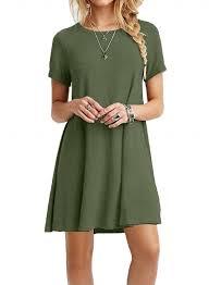 casual dress casual sleeve swing t shirt dress oasap