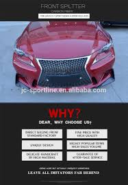 lexus isf front bumper for sale alibaba manufacturer directory suppliers manufacturers