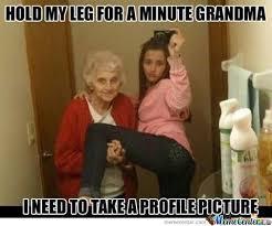 Granny Meme - thanks granny by csarratori meme center