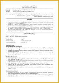 Sample Resume For Supply Chain Management by 28 Logistics Resume Sample Resume Sample For A Logistics