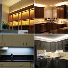 Kitchen Under Cabinet Counter LED Light Kit Warm White Energy - Kitchen under cabinet led lighting