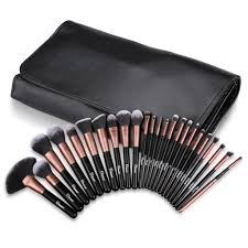 ovonni professional makeup brush kit set of 24 cosmetic make up