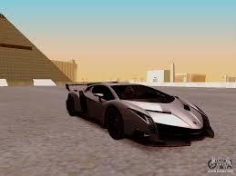 Lamborghini Veneno On Road - lamborghini veneno for gta san andreas