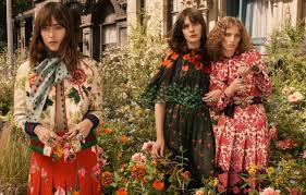 bloom dakota johnson hari nef and petra collins star in gucci u0027s dreamy