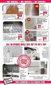 Builders Warehouse Laminate Flooring Prices J U0026h Builder U0027s Warehouse Flyer August 8 To 20