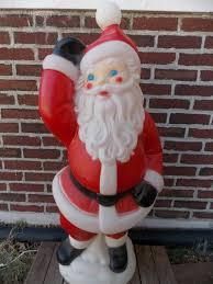 Outdoor Lighted Santa