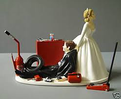 mechanic wedding cake topper wedding cake topper don t forget personalized napkins with a