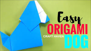 origami dog easy and cute tutorial origami easy very easy