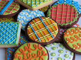 8th day of christmas christmas cookies color palate christmas