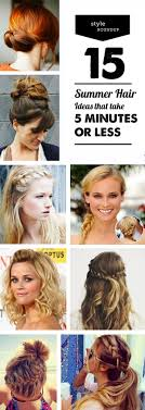 hairstyles for teachers 15 summer hairstyles that take 5 minutes or less modern parents