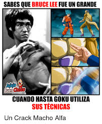 Bruce Lee Meme - sabes que bruce lee fue un grande buen cuando hastagokuutiliza