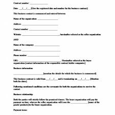 sample business contract template selimtd