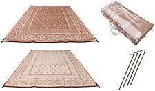 Camping Patio Mats by Doormats Redwood Mats Patio Mat 9 X 12 Beige Reversible Outdoor