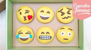how to make emoji cupcakes cupcake jemma youtube