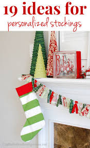 craftaholics anonymous 19 ways to personalize a stocking