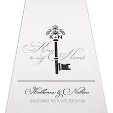 personalized aisle runner wedding aisle runners personalized aisle runners the knot shop