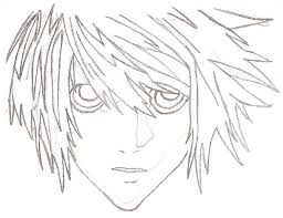 death note l sketch p1 by ravenfr0st on deviantart