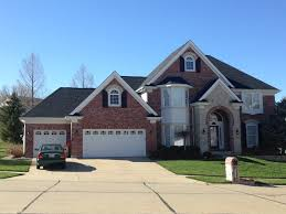 timberline hd charcoal roof red brick house pinterest