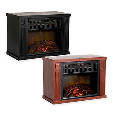 Electric Fireplace Heaters Northwest Mini Portable Electric Fireplace Heater Bed Bath U0026 Beyond