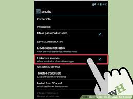 player for android how to get flash player for android 5 steps with pictures