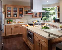 Kitchens With Hickory Cabinets Interior Design Exciting Waypoint Cabinets For Inspiring Kitchen
