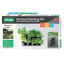 Indoor Herb Garden Kit Australia - holman greenwall vertical garden kit bunnings warehouse
