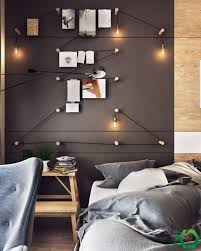 nordic decoration home designs creative bedroom lighting idea charming eclectic
