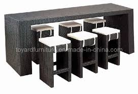 outdoor furniture rattan bar table chair b421 u0026 b521 id 6614969