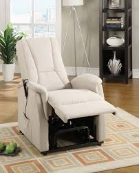 Sleek Recliner by Modern Recliner Chair With Leather Material Traba Homes