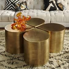 jonathan adler coffee table brass teardrop table modern furniture jonathan adler