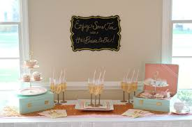 diy bride vintage tea party bridal shower