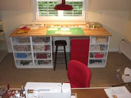 Quilting Cutting Table by Cheeky Cognoscenti The Creme De La Cutting Table Finished At Last