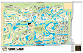 North Florida Map by Of Grey Oaks Customized Sample Naples Florida