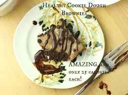 healthy cookie dough brownies vegan gluten free paleo low carb