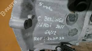 manual gearbox citroën berlingo b9 1 6 hdi 75 32658