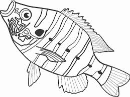 Fish Coloring Pages Fish Coloring Rosh Hashanah Colouring Pages