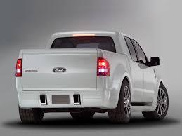 Ford Explorer Pickup - 2004 ford explorer sport trac concept rear angle studio