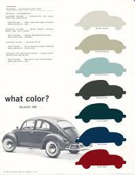 volkswagen bug colors vw bugs dβ pinterest