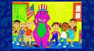 kids world u0027s adventures of barney goes to kids world u0027s