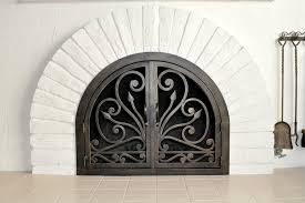 Arched Fireplace Doors by Arched Doors U2013 Ams Fireplace Inc
