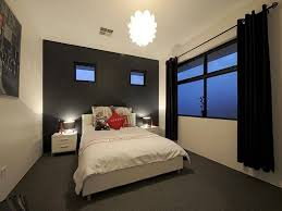 Black Curtains Bedroom Small Bedroom With White Furniture And Black Curtains Choosing