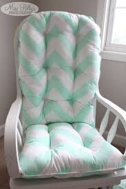 Rocking Chair Cushions Nursery Turquoise Rocking Chair Cushions Best Home Chair Decoration