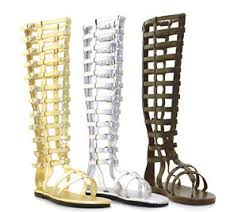 womens flat boots size 12 silver mens gladiator toga sandals costume shoes boots