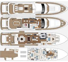 standard specificaiton 2015 princess 40m m class yacht