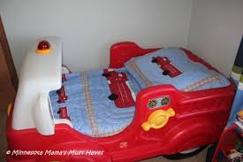firetruck toddler bed u0026 bedding makeover minnesota mama u0027s must haves