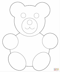 black bear coloring pages holiday happy teddy bear coloring pages birthday with teddy bears