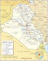 Map Of Southwest Asia by Political Map Of Iraq Nations Online Project