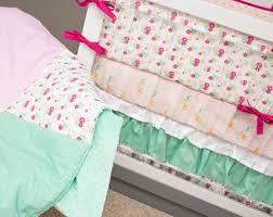 mermaid crib bedding ocean nursery bedding baby crib