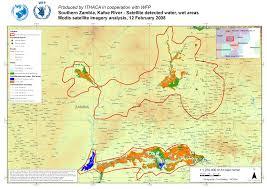 Zambia Map Maps Zambia Ithaca