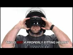 motocross helmet sizing proper motorcycle helmet fitment presented by j p cycles youtube
